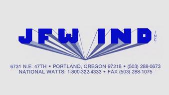 JFW Industries Brand